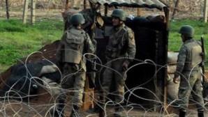 Suriye sınırında askerimize ateş açıldı