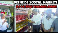 DEFNE'DE SOSYAL MARKETLER…