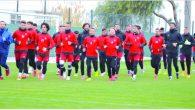 Hatayspor'da 2.yarı öncesi 2.özel maç bugün Nazillispor ile;