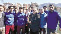 Armutluspor gençleri şampiyon