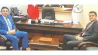 Kırıkhan Başsavcısı  Ziyareti Baro'ya