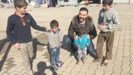 Suriyelilere yardım için 3 bin km yol kat etti …