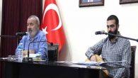 Şair Şükrü Erbaş ve Sanatçı Metin Karausta Samandağ'a Geldi