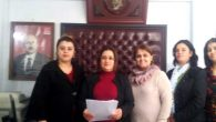 Samandağ'da kadınlar, TBMM'de CHP'li kadınlara yönelik şiddet görüntülerini eleştirdi: