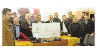 Defne Belediyesi, ilçedeki tüm Amatör Spor Kulüplerine  para yardımı yaptı