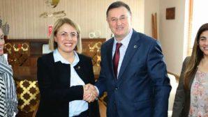 CHP'de Kadın Kolları Genel Başkanı'ndan Bşb Başkanı Lütfü Savaş'a Övgü: