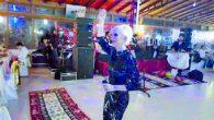 Samandağ'da yılbaşı kutlaması