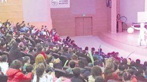 Samandağ'da Sirk Gösterisi