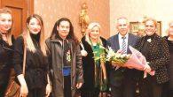 SŞMÇKD'li Kadınlar  Vali Ata'yı Ziyaret Etti