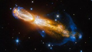 Hubble 'ölen' yıldızı nebula halinde görüntüledi