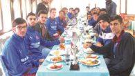 Armutluspor'da şampiyonluk kutlaması