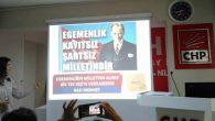 CHP'de partili kadınlara referandum semineri