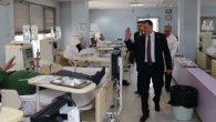 Savaş, diyaliz hastalarını ziyaret etti