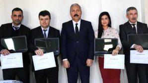 4 Öğretmen'e bölge ödülü