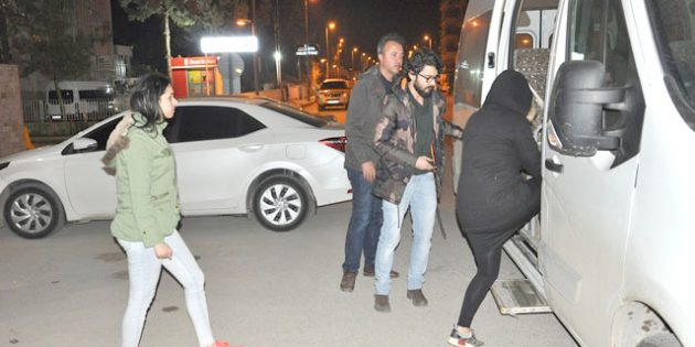 Fuhuş çetesinde 12 tutuklama