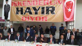 CHP ve MHP Genel Başkan Yardımcıları dün Hatay'da idi: