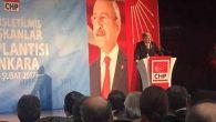 Parlar, Ankara'da, Hatay'daki 15 İlçe Başkanı adına konuştu: