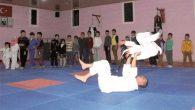 Suriyeli çocuklara Judo kursu