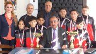 Jimnastik şampiyonu Turunçlu ortaokulu
