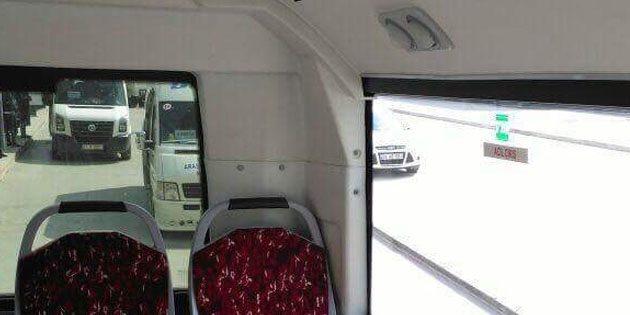Minibüs ve otobüslere kamera