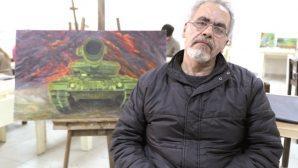 Suriyeli ressamın Antakya'da yaşam mücadelesi …
