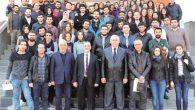MKÜ öğrencileri İSTE'nin misafiri oldular