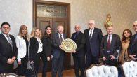Taşçıoğlu Yönetimi Ziyareti Vali Ata'ya