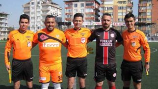 Şimdi Antakya'da, amatör maçta!