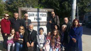 Ali Yüce, Ali Yüce parkı'nda anıldı…