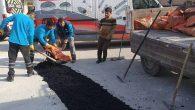 Şimdilik yama asfalt…
