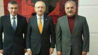 Samandağlı başkanlar  Kılıçdaroğlu ile
