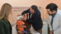 MKÜ Araştırma Hastanesi KBB'de çok özel operasyon: