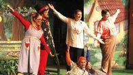 Miniklere tiyatro ziyafeti