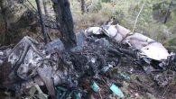 Suriye savaş uçağı  Hatay'da düştü