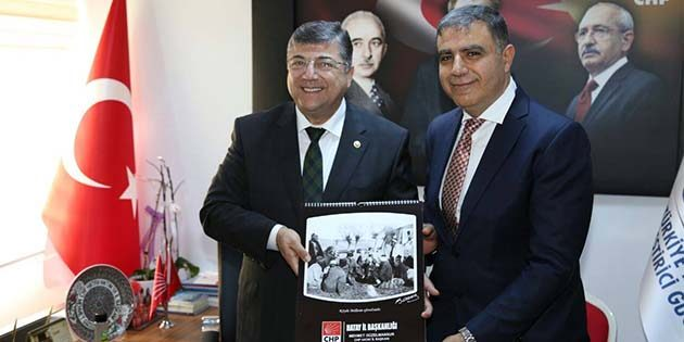 "Prof. Dr. Sındır'a ""Hatay CHP takvimi"""