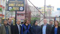 Samandağ Belediyesi Park Yaptı
