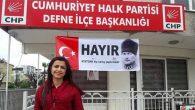 CHP'li kadınların  çarpıcı mesajı…