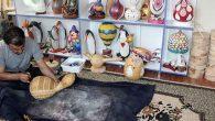 Kabağı sanata dönüştüren eğitimci