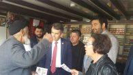 CHP'li Serkan Topal Hatay'ı karış karış geziyor: