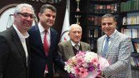 CHP İl Başkanı Güzelmansur'un Jesti