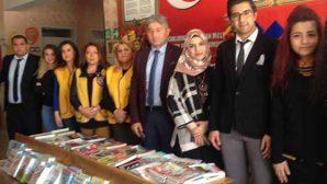 LİONS'Lardan, mülteci çocuklara kitap