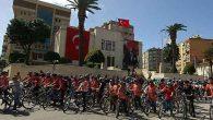 Çevre gönüllülerinden pedallı kutlama