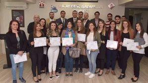 HAGİAD sertifika dağıttı