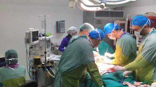 Hatay'da ilk Skolyoz  ameliyatı;