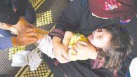 Sığınmacı çocuklara aşı