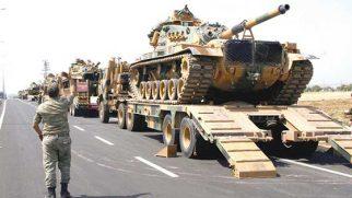 Hatay-Urfa-Mardin hattı asker kontrolünde