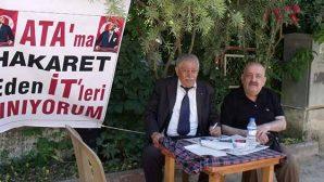 Ata'ya Saygısızlığa Pankartlı Tepki