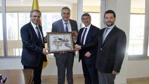 ÖSYM Başkanı sürpriz ziyareti Atso'ya