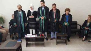 Reyhanlılı genç kızın Avukatlık heyecanı
