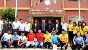 """MKÜ'de """"Kültürler Birleşiyor"""" Tanıtımı"""